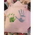 Ewa's Handprints