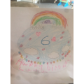 Layla's making this cake for her birthday!