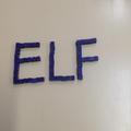 He wrote his name in blocks!