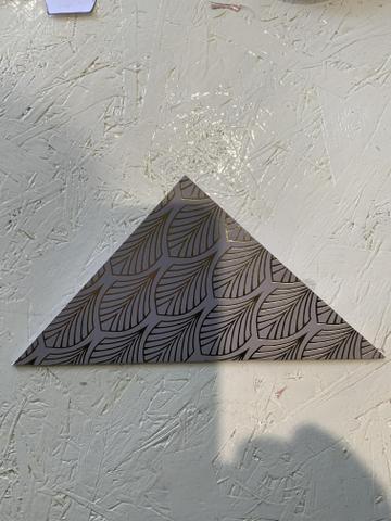 Fold to make a triangle