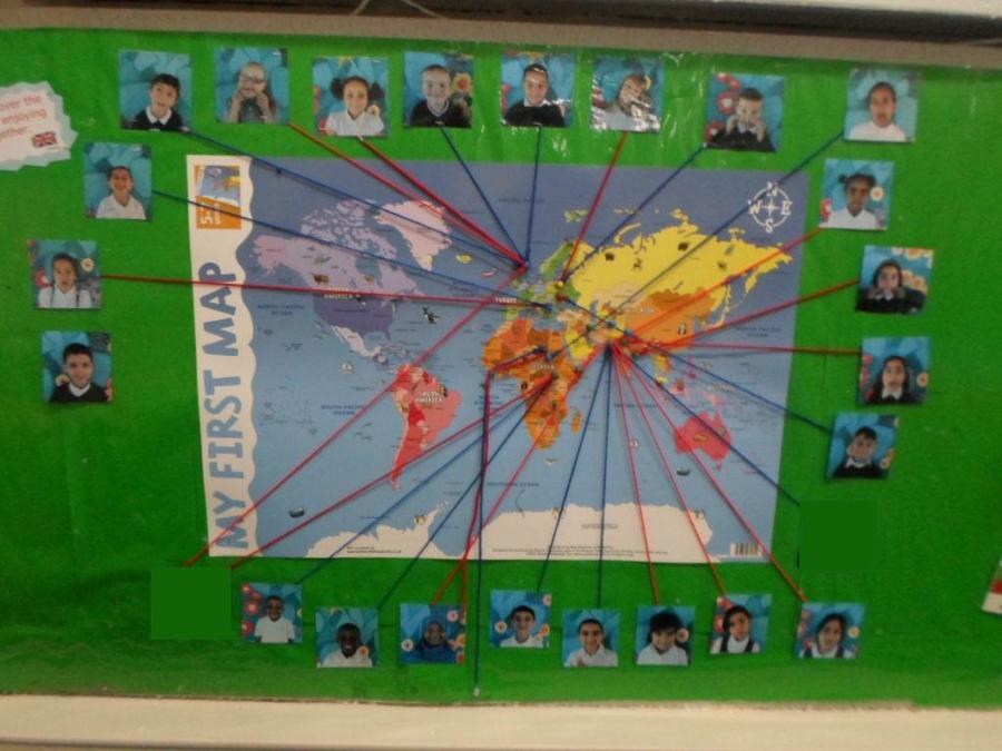 The Class 1 world map.