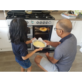 Baking with Daddy!