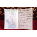 Aya's Card for Captain Tom Moore