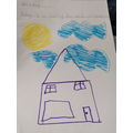 Sara has created a beautiful weather diary.