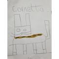 Cornetto loved Hashim's portrait!