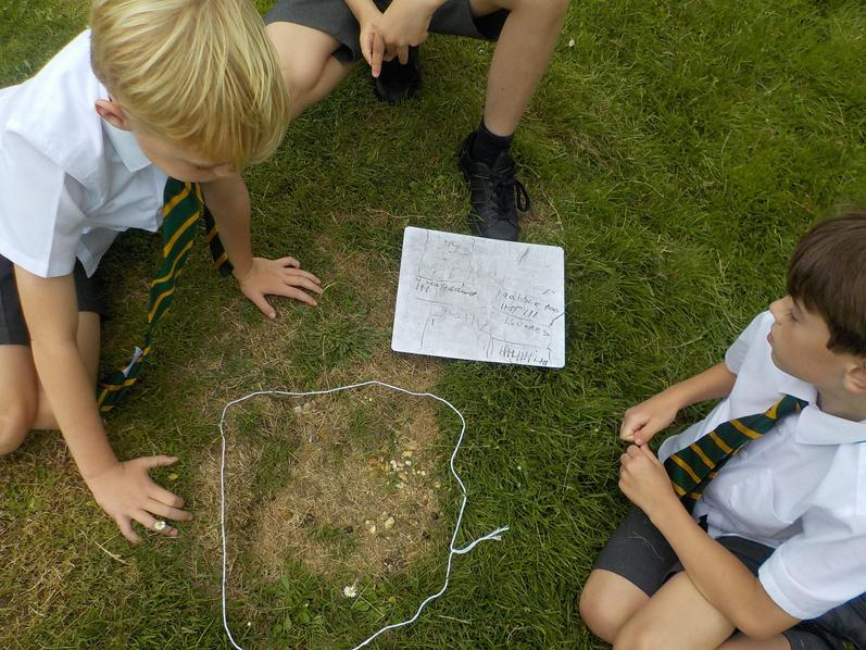 Graphing the things we could find on the field