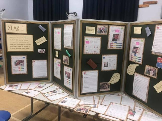 Our DT learning projects presented for parents
