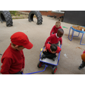 cooperative play - sharing and turn taking