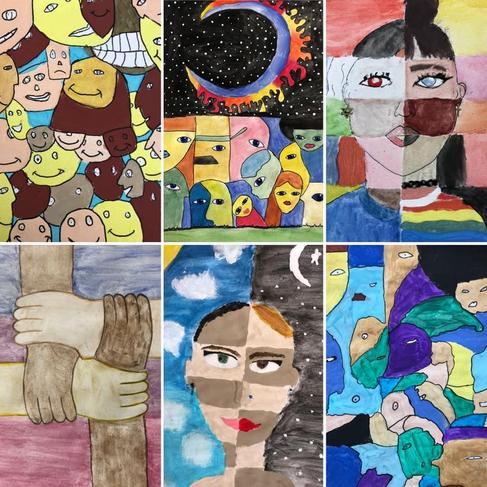 More artwork inspired by diversity and inclusion