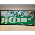 Jack and the Beanstalk story writing corridor display