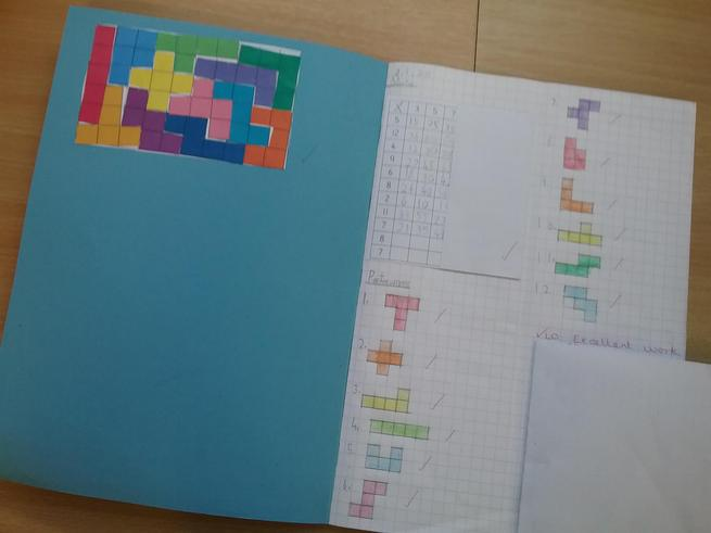 Our pentomino challenge.