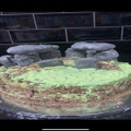 Isaac's Stonehenge Cake.