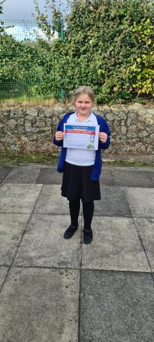 Karolina passed another level of Lexia. Great work.