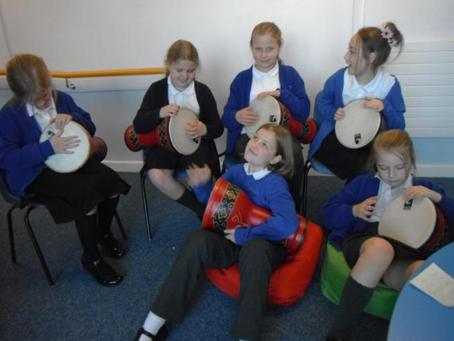 Arabic Drumming