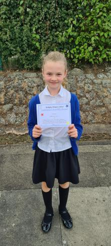 What a great start to the new term after such a long time off. Well done Gabriella!