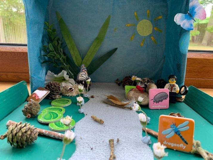 A Playful Garden for the Insects by Elliot