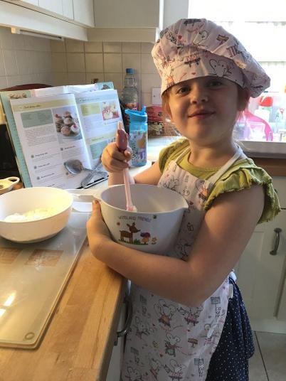A future chef!
