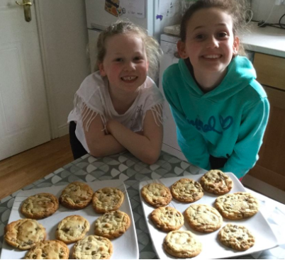 Cookies by Isabelle and Olivia.