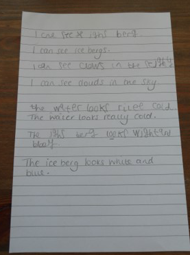 clear sentences, Finley! Well done.