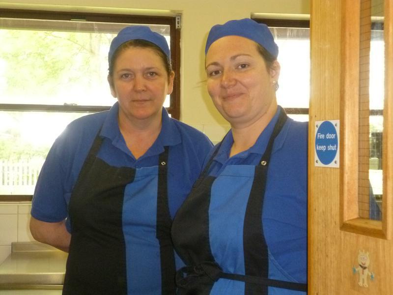 Mrs Hellend and Mrs Dunbar