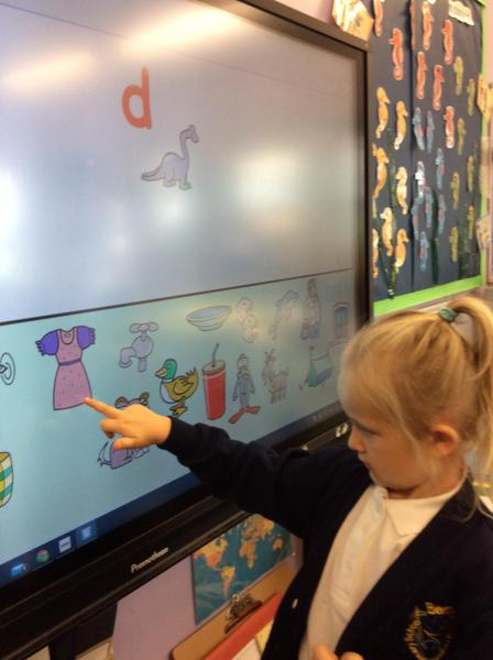 phonics on the board