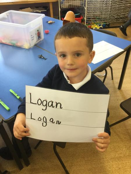 writing name practice
