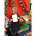 Olivia has been writing her name - well done!