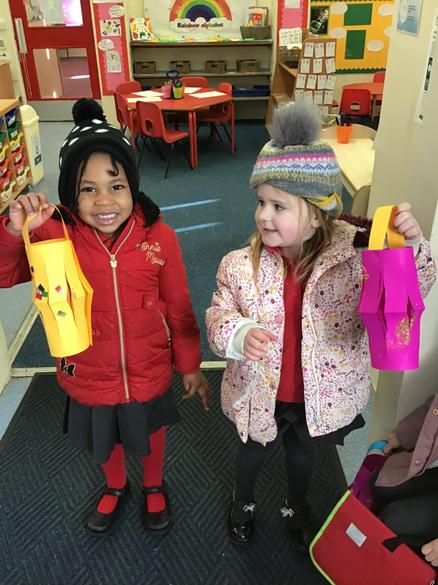 Look at our fabulous colourful lanterns