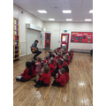 We love singing assembly with Mr Brazil!!
