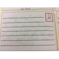 Brooke writing on behalf of Mrs Kendall's class