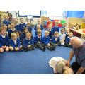 We learnt about CPR