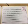 Makayla writing on behalf of Mrs Price's class
