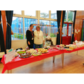 The Easter Cake Sale was extremely popular!