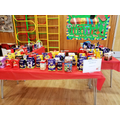Look at the Easter Eggs donated to raise funds!