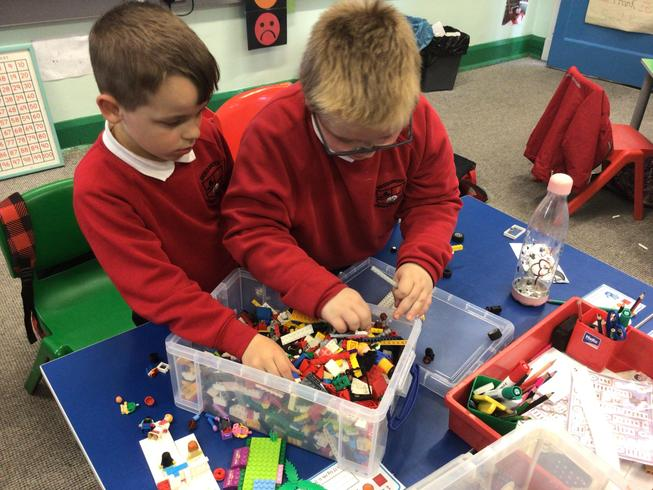 More pirate fun with Lego.