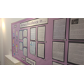 Excellence in Writing display