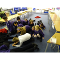 Year 4 went down the throat in the stomach