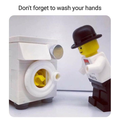 Day #59 Don't forget to wash your hands.