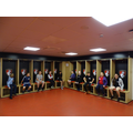In the home changing room
