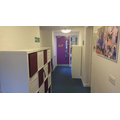 Year 6 corridor and lockers