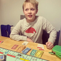 Noah has been beating his parents at Monopoly