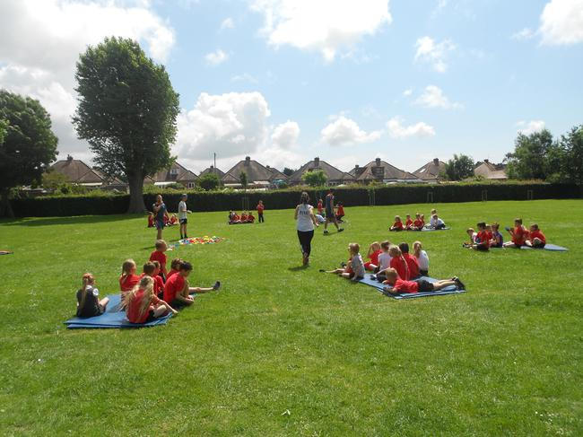 Year 2 and Year 3 Sport Morning