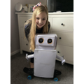 Tillie has made an awesome robot!