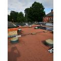 Solar Panels flat roof