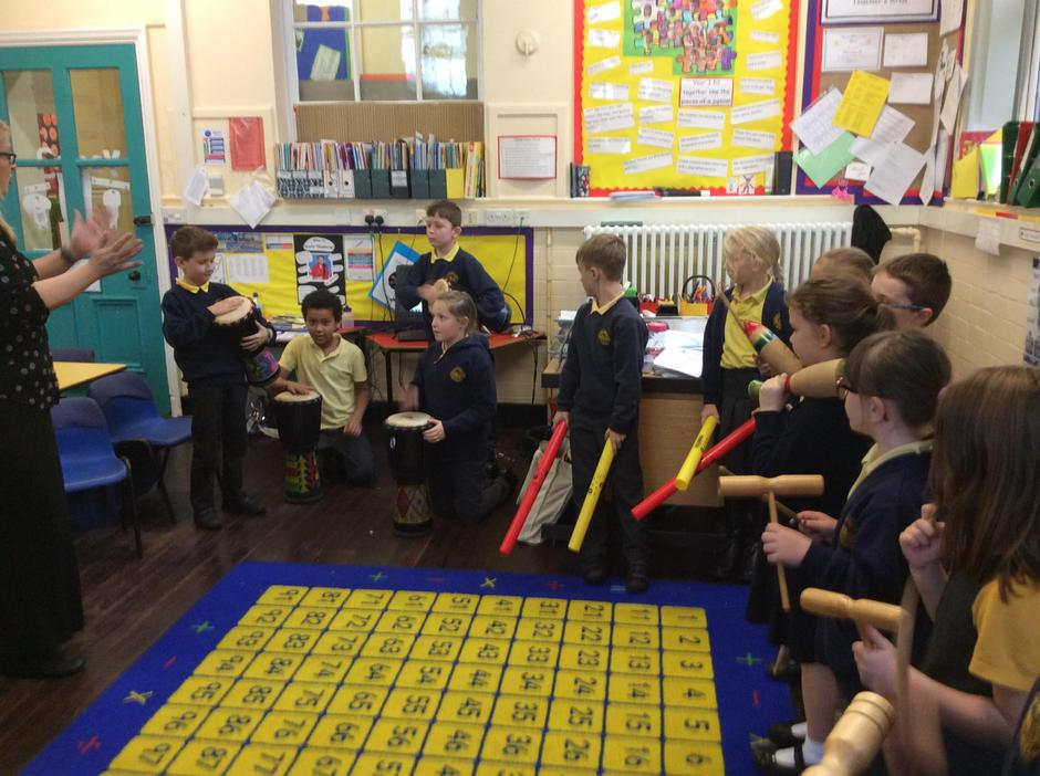 We are learning about the music of the Aborigines.