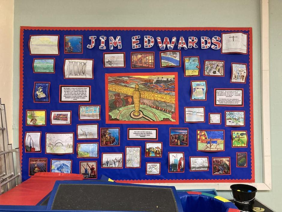 Yr 5 - Inspired by Jim Edwards