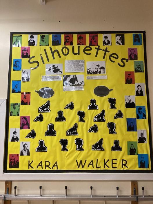 Y4 - Inspired by Kara Walker.