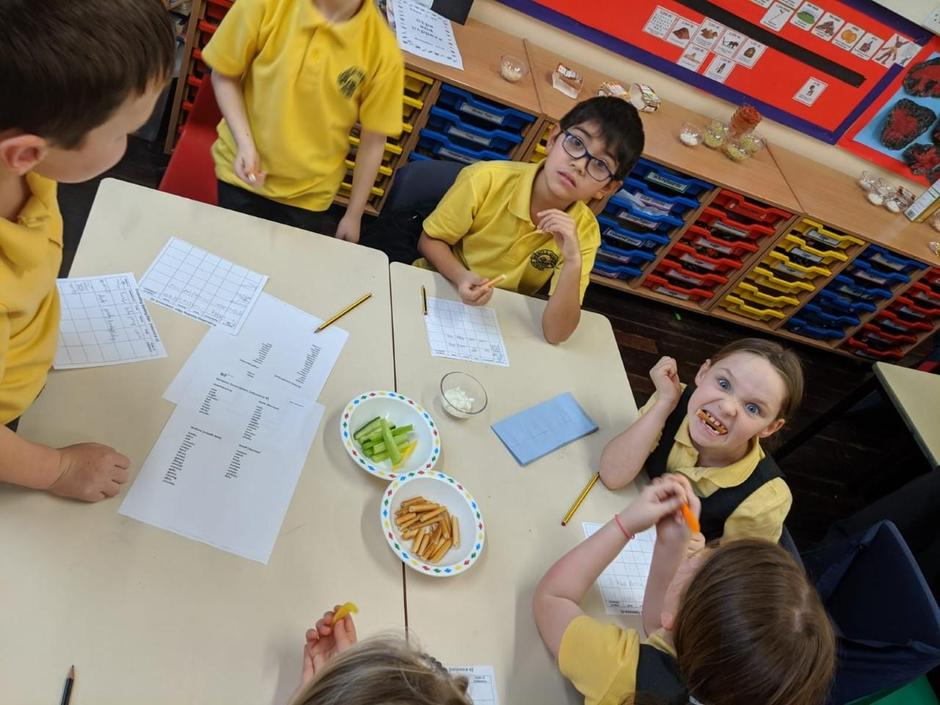 We looked at texture, flavour and appearance.