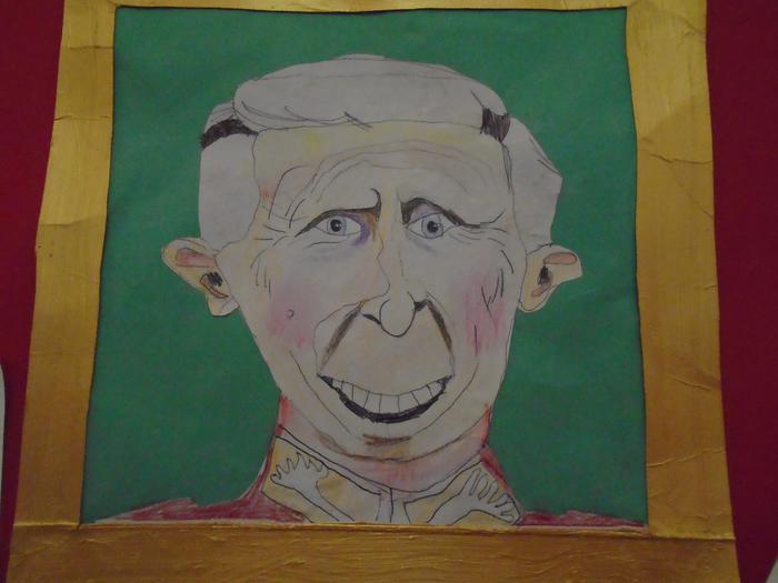 Gallery worthy portrait of Prince Charles by Finn