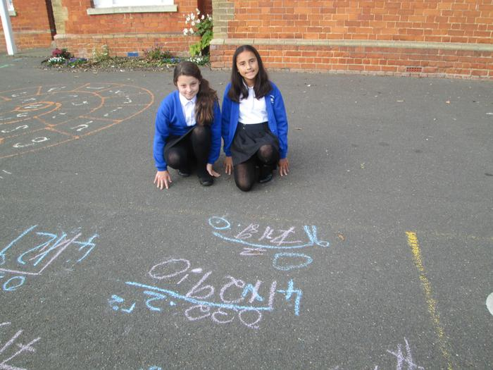 Proud mathematicians!